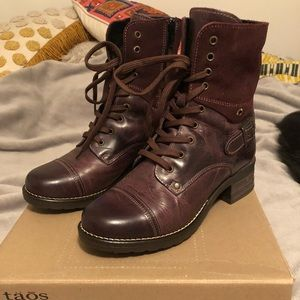 taos leather boots